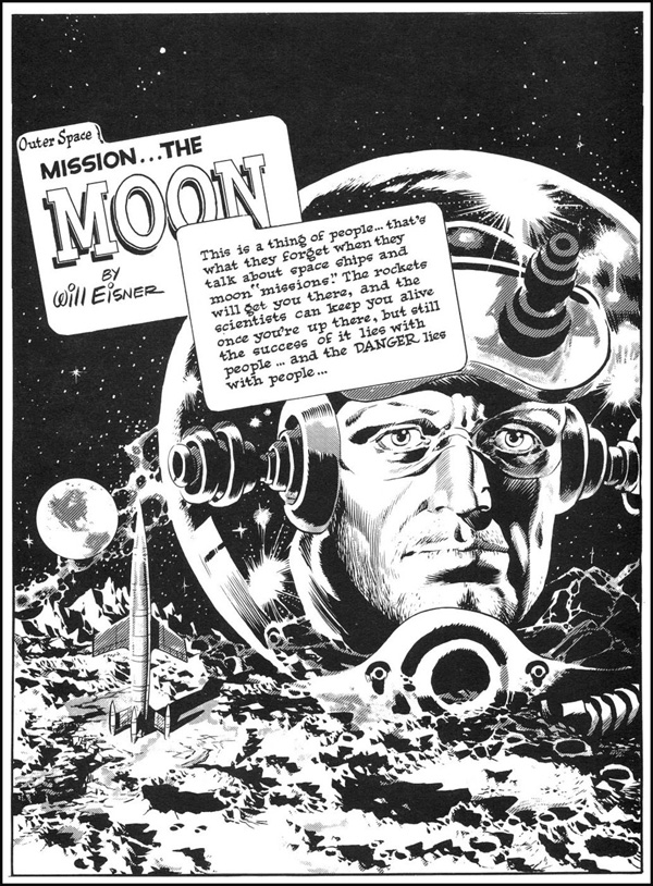 Wally Wood- Spirit in Space